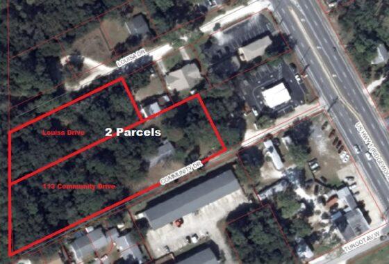 Aerial View - 2 Parcels