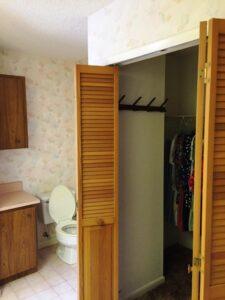 Master Bath with Walk-In Closet