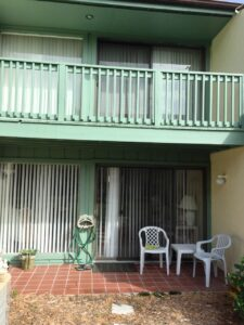 Rear Balcony/Patio