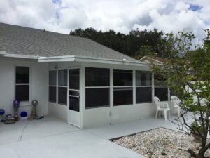 Screened, Enclosed Florida Room