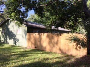Fenced Rear Yard