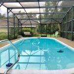 Screened Inground Pool